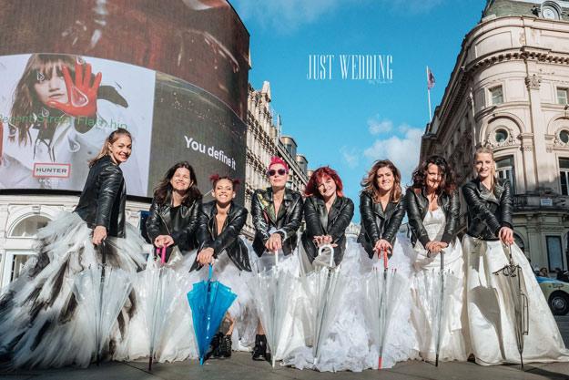 Trash the dress : réactions des Queens of London