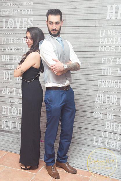 Anais et Sébastien : mariés AtypicoRebelle