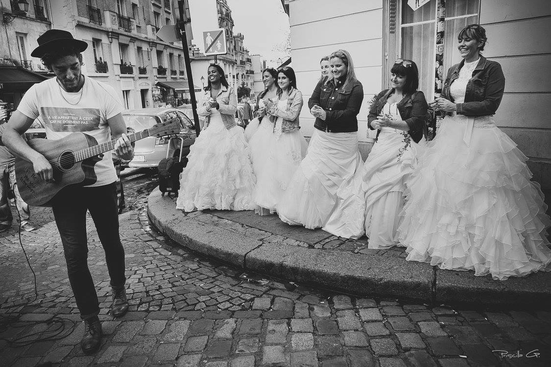 L'avant Trash the dress collectif au Portugal !