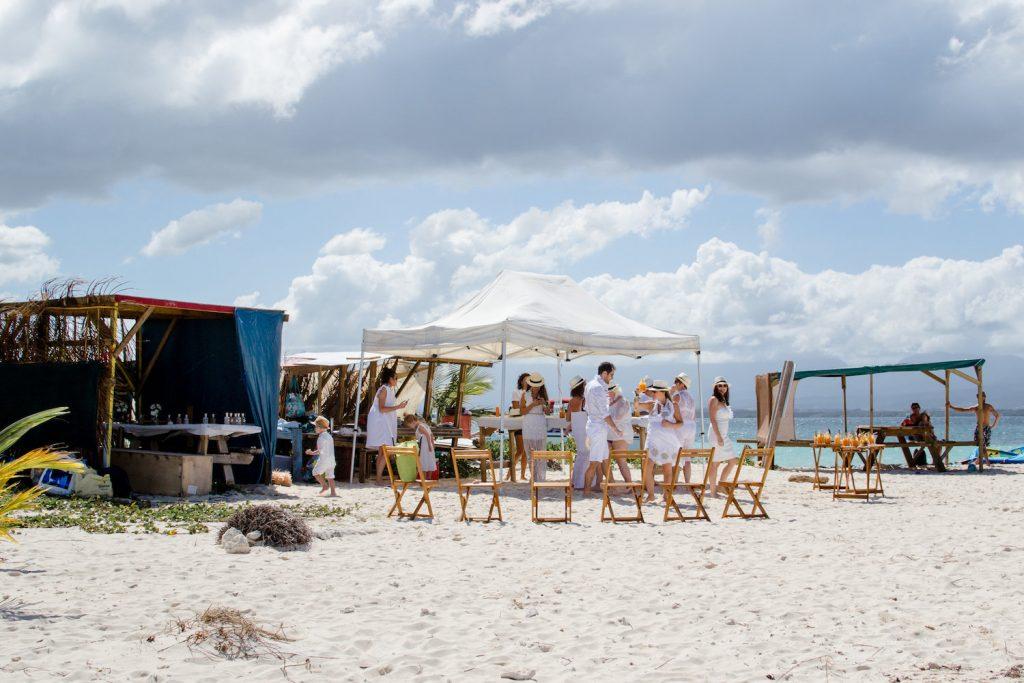 Bérangère & Nicolas : leur mariage en Guadeloupe sur un ilet paradisiaque